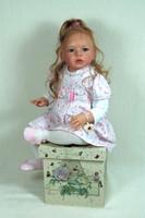 Isabella Reborn Vinyl Doll Kit by Regina Swialkowski