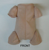"""Doe Suede Body for 17-18"""" Dolls 3/4 Jointed Arms 3/4 Jointed Legs #1492"""