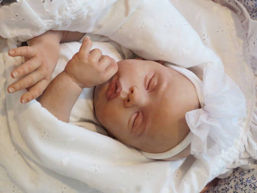 Haley Andrea Reborn Vinyl Doll Kit by Laura Tuzio Ross