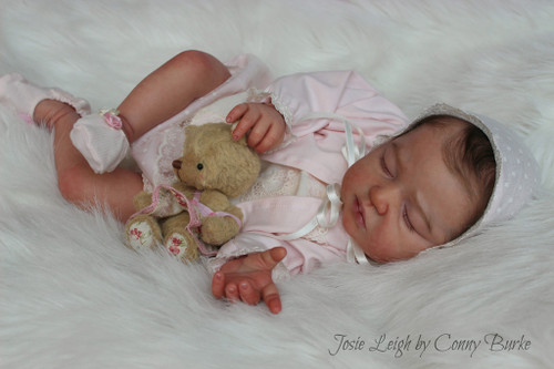 Josie Leigh Reborn Vinyl Doll Kit by Conny Burke