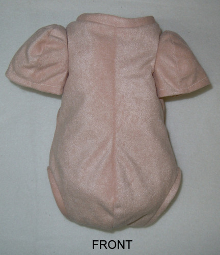 "Doe Suede Body for 17-18"" Dolls 7/8 Jointed Arms Full Unjointed Legs #505S"