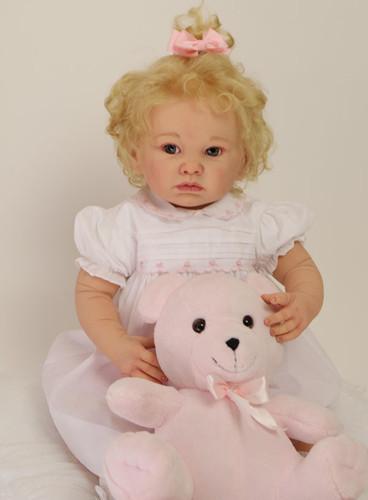 Heidi Reborn Vinyl Doll Kit by Adrie Stoete