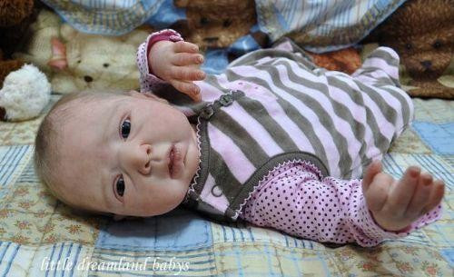 Joy Reborn Vinyl Doll Kit by Danielle Zweers