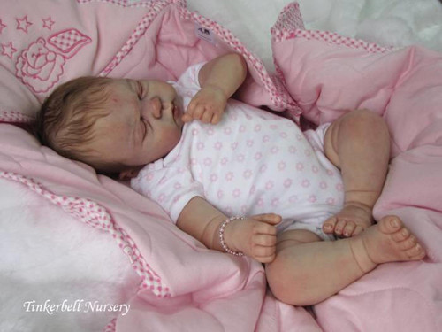 Jazmine Belle Reborn Vinyl Doll Kit by Sandy Faber