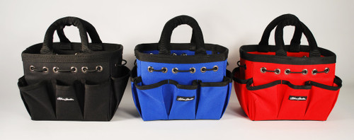 Silver Brush Nylon Rectangular Petite Tote 9500 Choose Your Color Blue, Black or Red