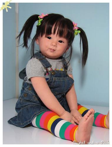 Chun Mei Reborn Vinyl Doll Kit by Ping Lau