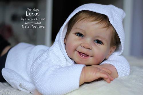 Lucas / Zoe Reborn Vinyl Doll Kit by Tomas Dyprat
