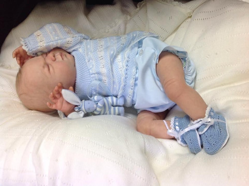 Newborn George Reborn Vinyl Doll Kit by Ping Lau