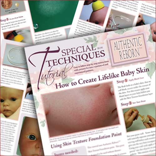 Special Techniques Tutorial: How to Paint a Clay Sculpt STT How to Create Lifelike Baby Skin STT