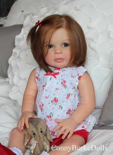 Charli Toddler Reborn Vinyl Doll Kit by Sigrid Bock