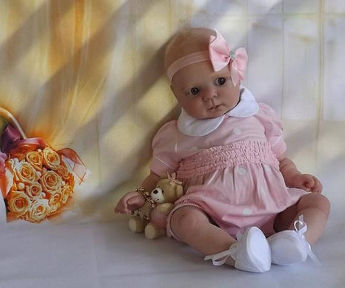 Cutie Reborn Vinyl Doll Kit by Donna RuBert