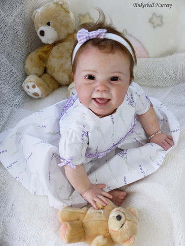 Kenzie Reborn Vinyl Doll Kit by Donna RuBert