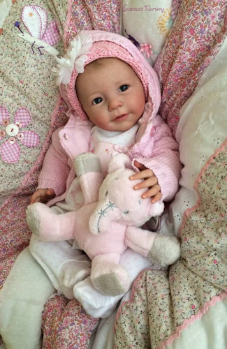 Little Lisa Vinyl Reborn Doll Kit by Linde Scherer