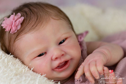 Lil Smile Reborn Vinyl Doll Kit by Philomena Donnelly
