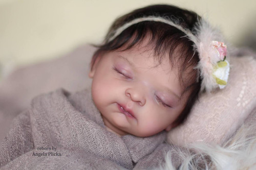 Emery Reborn Vinyl Doll Kit by Kyla Janell