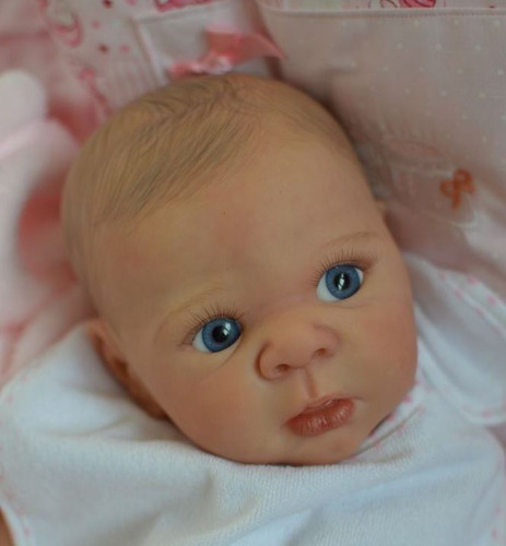 Eric Reborn Vinyl Doll Head by Adrie Stoete  Mix & Match