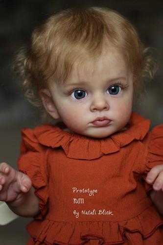 Tutti Reborn Vinyl Doll Toddler Kit by Natali Blick