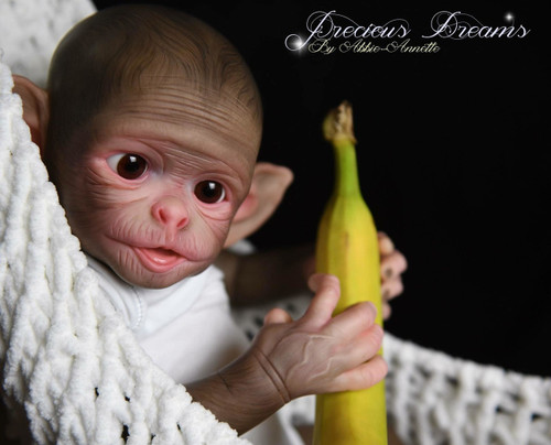 Cheeky Monkey Reborn Vinyl Doll Kit by Philomena Donnelly