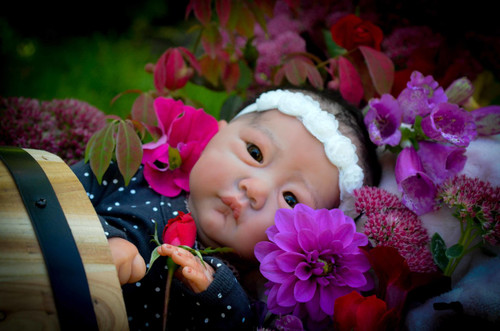 Ellory Reborn Vinyl Doll Kit by Andrea Arcello
