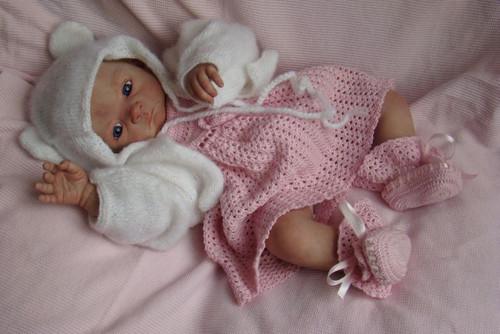 Vivien Reborn Vinyl Doll Kit by Evelina Wosnjuk