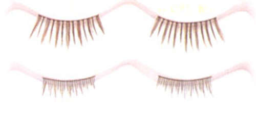 Double Eyelashes in Medium Brown