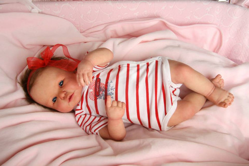 Lidy Reborn Vinyl Doll Kit by Didy Jacobsen