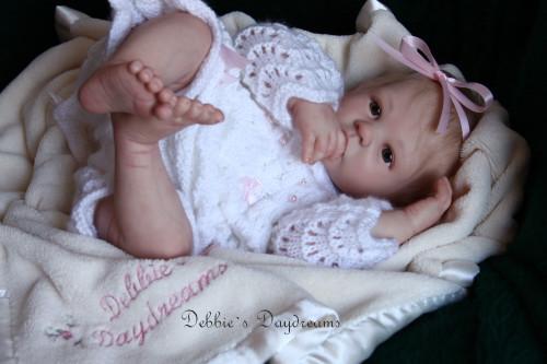 Shannon Reborn Vinyl Doll Kit by Ann Timmerman