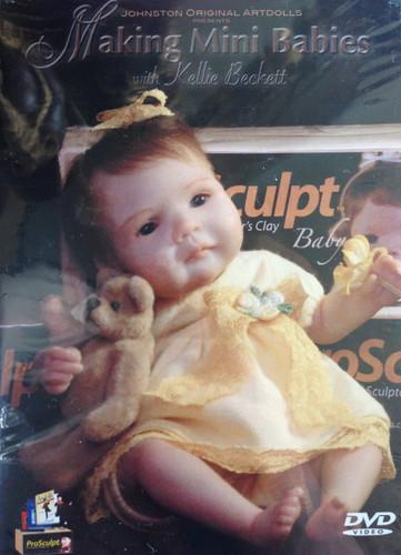 Making Mini Babies DVD Featuring Kellie Beckett