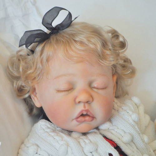 Camille Reborn Vinyl Doll Kit by Ann Timmerman