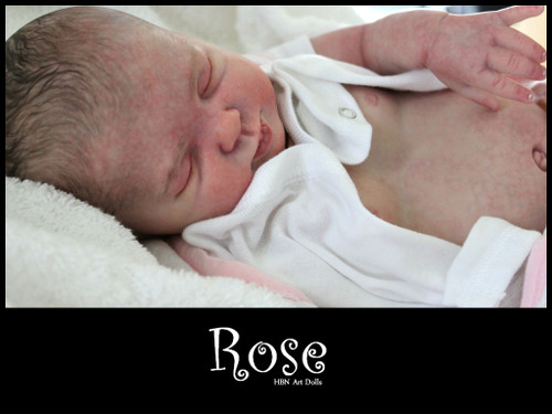 Rose Reborn Vinyl Doll Kit by Donna RuBert