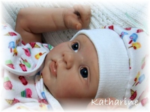 Katheran Mini Reborn Vinyl Doll Kit by Stephanie Sullivan