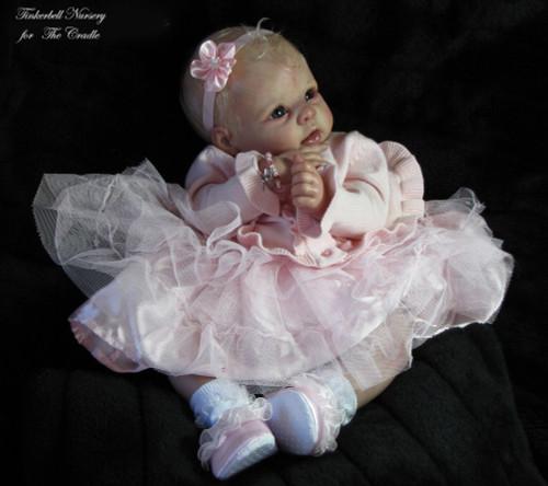 Krista Reborn Vinyl Doll Kit by Linda Murray
