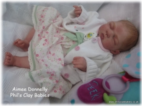 Aimee Reborn Vinyl Doll Kit by Philomena Donnelly
