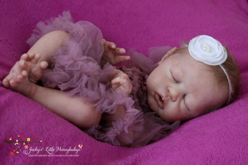 Clodagh Reborn Vinyl Doll Kit by Philomena Donnelly