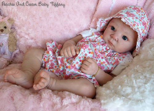 Timothy Reborn Vinyl Doll Kit by Adrie Stoete