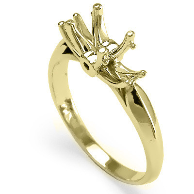 10k Yellow Gold Engagement Setting Ring R1124