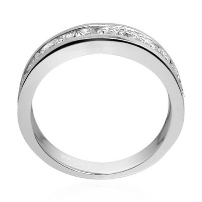 Platinum 950 Diamond Wedding Band ring R1880