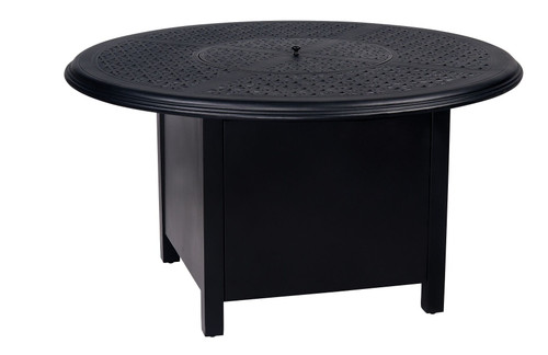 "Hampton - 48"" Round Fire Pit with Round Burner, Twilight"