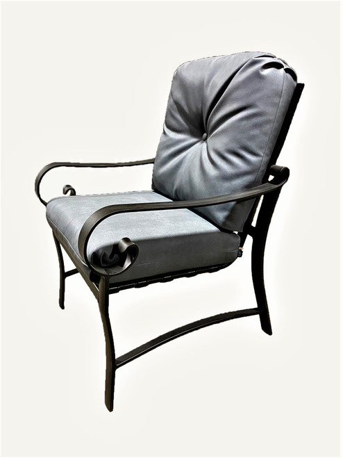 Belden - Cushion Dining Chair, Charcoal