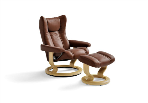 Wing Large Classic with Footstool