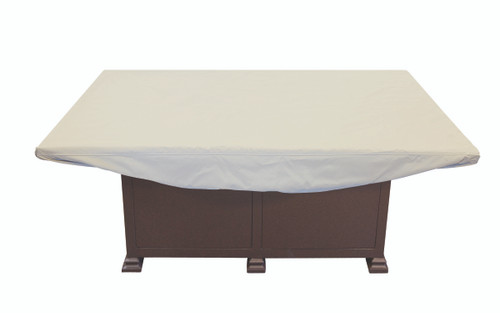 """58"""" x 38"""" Chat Table/Fire Pit Cover"""