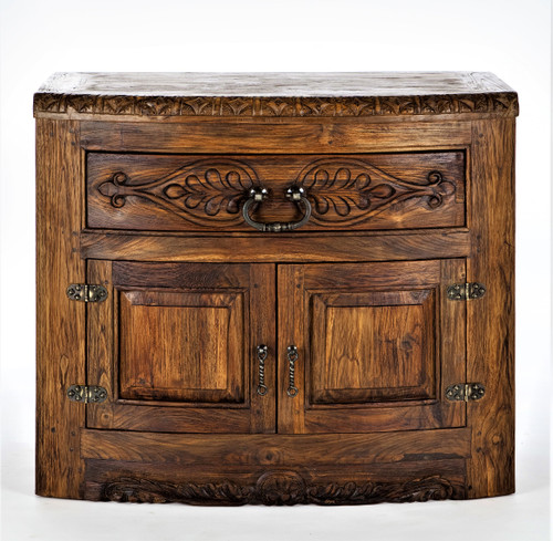 Round Nose Bedside Chest