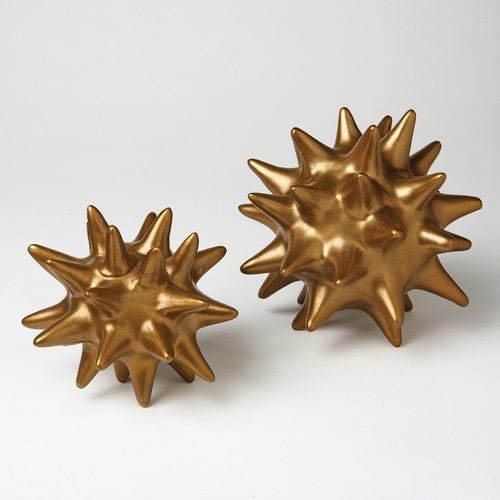 Urchin - Antique Gold, Small