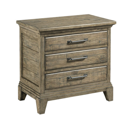 Plank Road - Stone Nightstand