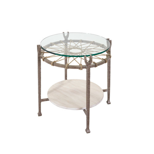 Hemingway - Round Accent Table
