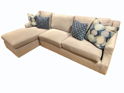 Comfort Select 2-Piece Sectional with 4 Toss Pillows