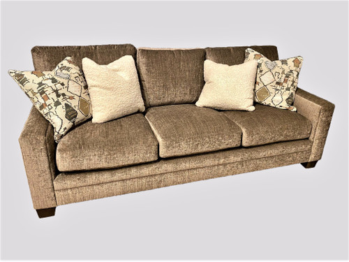 PDS II Bedford Sofa with 4 Toss Pillows