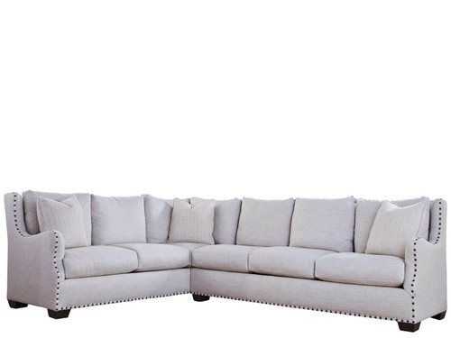 Connor 2-Piece Sectional with 4 Toss Pillows