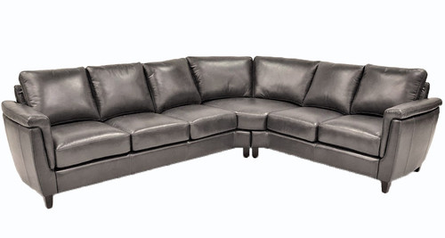 Ellis 2-Piece Leather Sectional