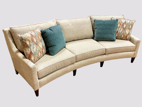 Asheville Wedge Sofa with 4 Toss Pillows